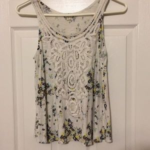 Eyeshadow, Ladies small tank top, floral print, S.